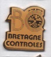 Camion , Bretagne Controles , Tachymétre , Controlographe - Transport Und Verkehr