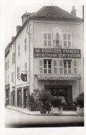 CUSSET  AU CUIRASSIER FRANCAIS CAFE RESTAURANT REMY PIGERON CARTE PHOTO - Zonder Classificatie