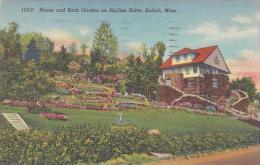 Minnesota Duluth House And Rock GArden On Skyline Drive
