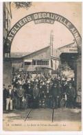 91 - CORBEIL - Sotie De L'usine Decauville - Corbeil Essonnes