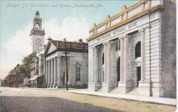 Florida Jacksonville Forsyth Street Post Office &amp  Florida National Bank - Jacksonville