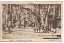 CERET (Pyrénées Orientales) Roussillon - Boulevard Maréchal Joffre - Animée - Ceret