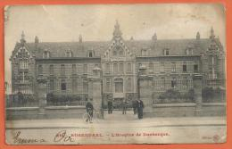 HA127, Rosendaël , Hospice De Dunkerque, 26, Animée, Mauvais état,  Circulée 1906 - Francia