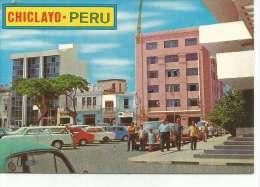 MODERNA VISTA DE LA PLAZA DE ARMAS  CHICLAYO - LAMBAYEQUE   PERU   OHL