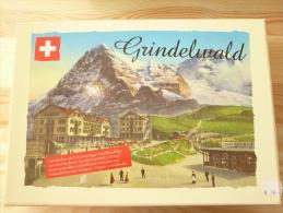 Arwico 02500, Collectors Box Grindelwald, 1x Saurer Alpenwagen IIIa, 1x MAN City Lion, 1:87 + Booklet - Véhicules Routiers