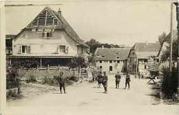 A Identifier -ref A249- Carte Photo - A Situer -guerre 1914-18- Plan Chasseurs Alpins -carte Photo Bon Etat   - - Cartoline