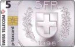 Switzerland - CHF 5 - 1996-11-01 - Swisscom - Private cards Swisscom - SUI-CP-000 - used