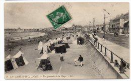 CP, 85, LES SABLES D'OLONNE, Vue Générale De La Plage, écrite - Sables D'Olonne