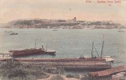 Ships, Quebec From Levis, Quebec, Canada, PU-1910 - Levis