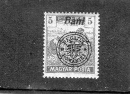 1919 - Occupation Roumaine De Hongrie(DEBRECEN) - SECERATORII Mi 28 II - Transylvania