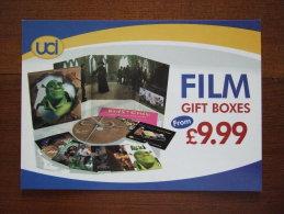Film Gift Boxes Carte Postale - Advertising