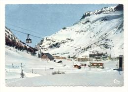 Cp, 73, Val D'Isère, Téléphérique De Bellevarde, Voyagée 1970 ? - Val D'Isere