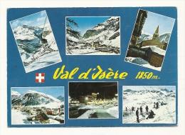 Cp, 73, Val D'Isère, Multi-Vues, Voyagée 1970 - Val D'Isere