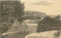 25 - BESANCON - Le Vieux Pont De La Promenade Chamars - Tarragnoz Et La Citadelle (C. Lardier, 112) - Besancon