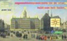 Netherland - 25 Gulden - 2001-01-01- KPN-Serie7:Historical Buildings-Gouden Eeuw, Dam Palace In Amsterdam-CD 007-02-used - öffentlich