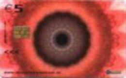 Netherland - 5 Euro - 2003-01-01- KPN-Serie10:Danielle Kwaaitaal - Eye -CD 010-01-used - öffentlich