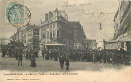 33 BORDEAUX ALLEES DE TOURNY ET MONUMENT DES GIRONDINS - Bordeaux