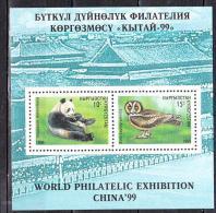 KIRGHIZISTAN 1999  CHINA 1999 BLOC 21  MNH - Kirghizistan