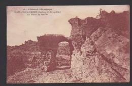DF / 34 HERAULT / SAINT-GUILHEM-LE-DESERT / LES RUINES DU PORTALET - France