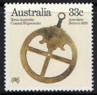 Australia 1985 Terra Australia - Coastal Shipwrecks 33c Astrolabe MNH - 1980-89 Elizabeth II