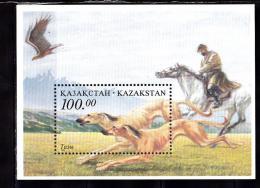 KAZAKHSTAN 1996 LEVRIER BLOC 7  MNH - Kazakhstan