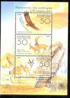 KAZAKHSTAN 2004  OISEAU MAMMIFERE  BLOC 31  MNH - Kazakhstan