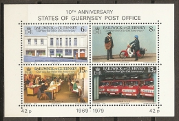 CORREOS - GUERNSEY 1979 - Yvert #H2 - MNH ** - Correo Postal