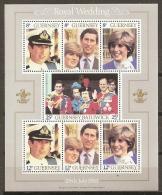 FAMILIAS REALES - GUERNSEY 1981 - Yvert #H3 - MNH ** - Familias Reales