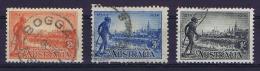 Australia: 1934 Mi 120-122, SG 147 - 149 Used - Used Stamps