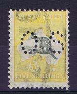 Australia: Service  OS: 1913 Mi 12 II /  SG O 27 ?  Used - Dienstpost