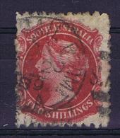 South Australia: 1867, Mi 27 , SG 43 , Used - 1855-1912 South Australia