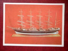 The Barque Kopenhagen  - Model Ship - 1979 - Estonia USSR - Unused - Voiliers
