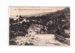 39 CERNON (envs Arinthod) Usine Electrique Du Saut Mortier, Barrage, Ed Mandrillon 167, 1905 *** ETAT *** - France