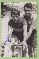 Marcel DELFOSSE, Autographe Manuscrit, Dédicace. 2 Scans. Photo Picoche - Cyclisme