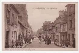 50 - CHERBOURG - Rue Emile Zola - Edition L. Ratti - Cherbourg