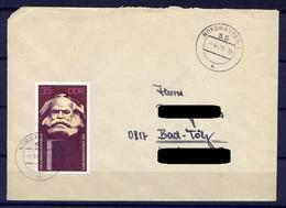 DDR Nr.1706    Sammler FDC Gelaufen  (B028)  (Jahr:1971) Nordhausen Ersttag - FDC: Enveloppes