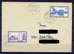 DDR Nr.1703/4    Sammler-FDC Gelaufen   (B031)  (Jahr:1971) Nordhausen Ersttag - FDC: Enveloppes
