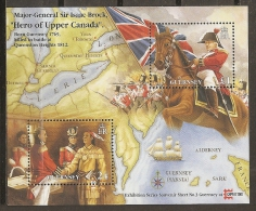HISTORIA - GUERNSEY 1996 - Yvert #H33 ** - Precio Cat. €5.50 - American Indians