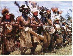 (987) Papua New Guinea - Warrior - Papua-Neuguinea