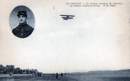 CPA 80 LE CROTOY LE SAPEUR AVIATEUR R.DELOCHE SUR CAUDRON - Le Crotoy