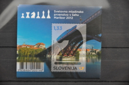 L 019 ++ SLOVENIË 2013  SCHAKEN CHESS ECHESS  MNH ** POSTFRIS - Slovénie