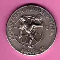 CUBA / KUBA - 1 Peso 1981 - XII Camp. De Futbol 1982 España KM#58 Cu-Ni - Cuba