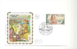 Enveloppe Premier Jour Louis XIV 1638-1715 Passage Du Rhin En 1672 Du 17/10/1970 Timbre à 0,45 - FDC