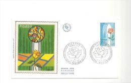 Enveloppe Premier Jour Picardie Du 15/11/1975 Timbre à 0,85 - FDC