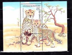 OUZBEKISTAN 2007 GUEPARD  BLOC 41 MNH - Ouzbékistan