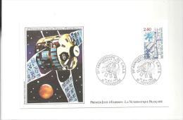 Enveloppe Premier Jour 20 ème Anniversaire Du Centre National D'Etudes Spatiales Du 15/05/1982 Timbre à 2,60 - FDC