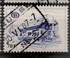 BELGIE BELGIQUE TR448 Cote 5.00€ Oblitéré Gestempeld Used - 1952-....