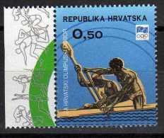 Canoë- Kayak- Croatie Z52 NMH- Centenaire Du Comité International Olympique - Kano