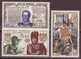 FRANCE - 1969 - YT N° 1616 / 1618 -** - - Neufs