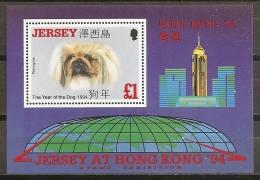HONG KONG'94 - JERSEY 1994 - Yvert #H8 MNH ** - Exposiciones Filatélicas